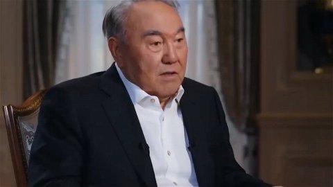 Поздравление Назарбаева Единой России