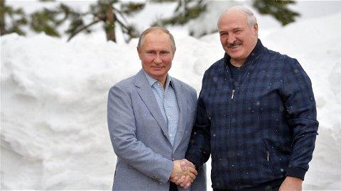Путин и Лукашенко об Афганистане